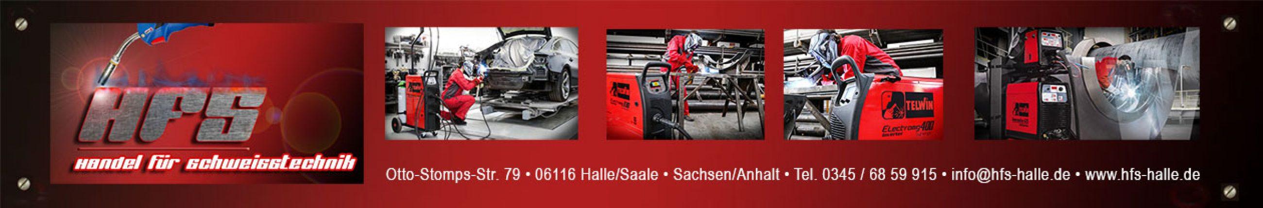 HFS Halle Handel für Schweißtechnik